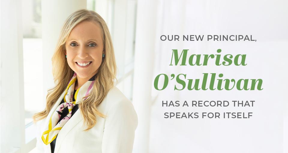 Amy Stewart Law Promotes Marisa O'Sullivan to Principal